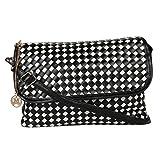 Moedbuille Black Letherette Sling bag