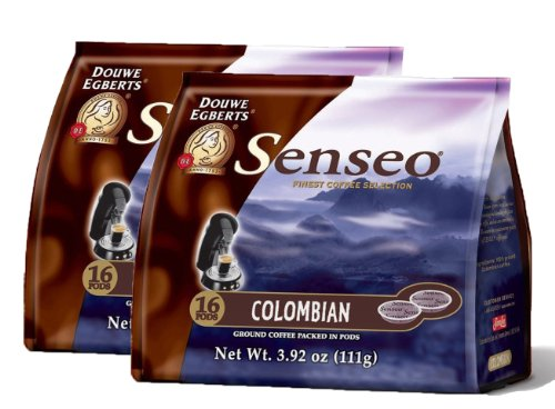 Senseo Colombia Blend Coffee Pods - (Pack of 2)