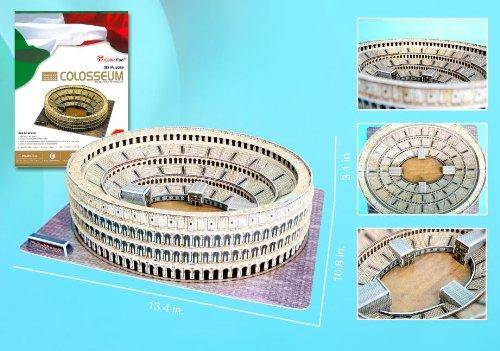 Roman Colosseum 3D Puzzle with Book, 131-Piece (Colosseum Model compare prices)