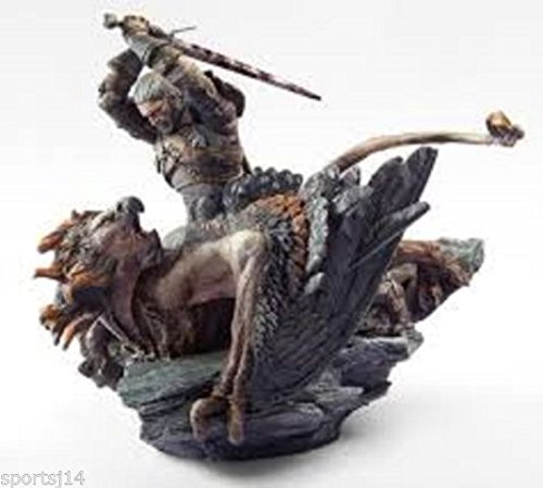 Witcher 3:Wild Hunt Polystone Geralt vs Griffin Statue from Collectors Edition