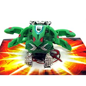 Bakugan Gundalian Invaders BakuBoost - BakuMetalix - Ventus PHOSPHOS (Green)