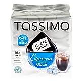 Tassimo Carte Noire Espresso Glace, Ice Coffee, Espresso Intense, 16 T-Discs
