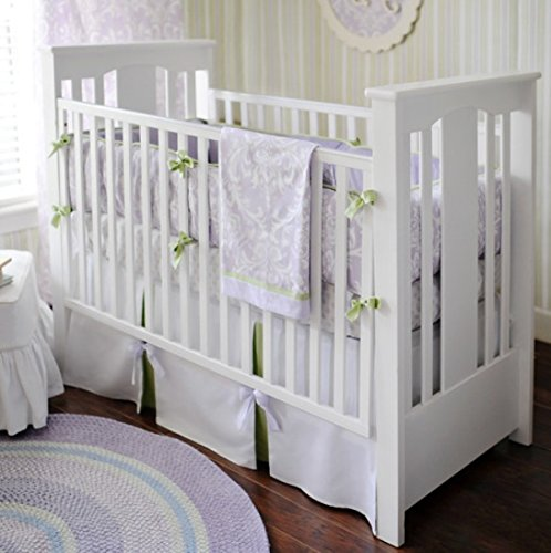 New Arrivals 3 Piece Crib Set, Sweet Violet