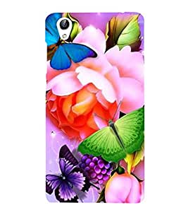Vizagbeats Beautiful Wallpaper Back Case Cover for Oppo F1 Plus
