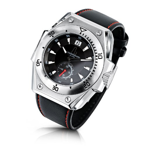 Alessandro Baldieri Men's Limited Edition Watch Seamonster II Inox Red AB0071-RED