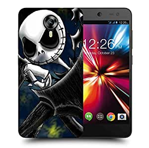 Snoogg Naughty Ghost Printed Protective Phone Back Case Cover For Micromax Canvas Nitro 4G
