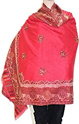 Matelco Red Casual woollen shawl