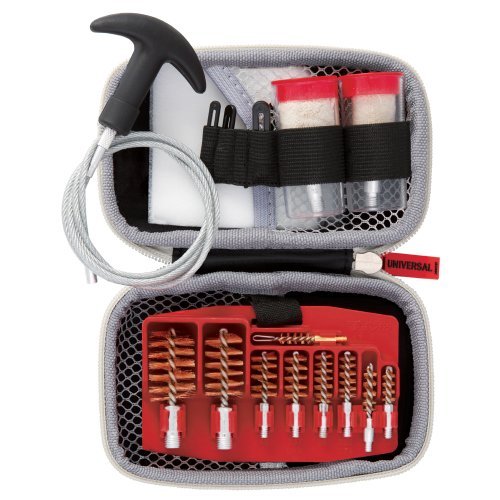 Real Avid Gun Boss Universal Pull-Through Cleaning Kit - for 12 & 20 Gauge and .17 - .45 Caliber Guns (Portable Gun Cleaning Kit compare prices)