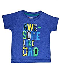 boys pepito t-shirt ink blue milanch 6-9 M