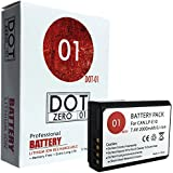 DOT-01 Brand 2000 mAh Replacement Canon LP-E10 Battery for Canon EOS Rebel T5, EOS Rebel T3 Digital SLR Camera and Canon LPE10
