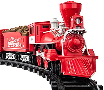 Lionel Trains Coca-Cola Holiday G-Gauge Train Set