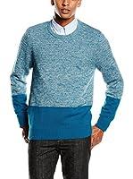 Timberland Jersey Winhall Rvr Pattern (Azul Celeste)
