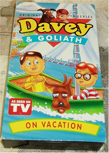 Davey and Goliath On Vacation: A Sudden Strom, The Silver Mine, & The Waterfall