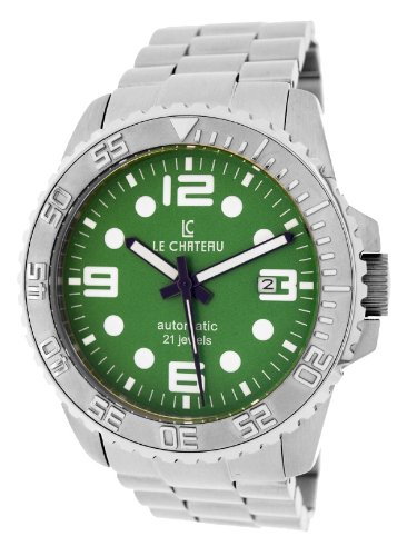 Le Chateau Men'S 7083Mssmet_Gre Sport Dinamica Automatic See-Thru Watch