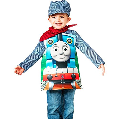 Thomas Train & Engineer Deluxe Kids Costume - Small