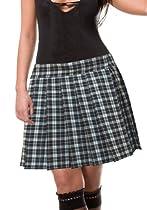 Donald Seneca Schoolgirl Tartan Plaid Pleated Long Skirt Henley18 2X