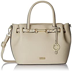 Cathy London Women's Handbag ( Beige,CATHY-138)