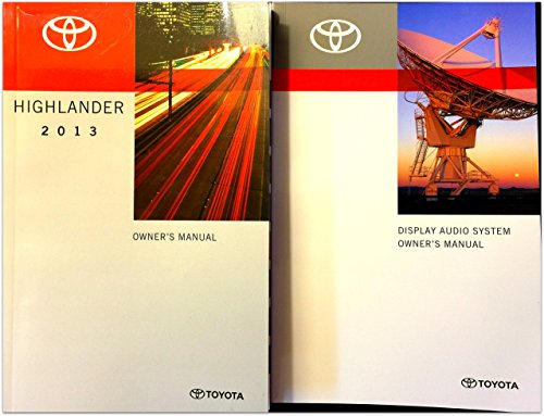 2013-toyota-highlander-with-display-audio-owners-manual