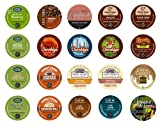 Crazy Cups Flavored Sampler,  K-Cup Portion Pack for Keurig K-Cup Brewers (Pack of 20)