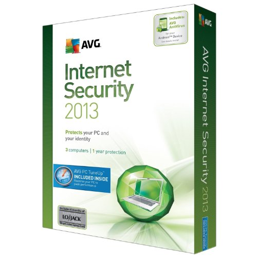 AVG TECHNOLOGIES USA INC AVG INTERNET SECURITY+PCTUNEUP 2013 3U1Y