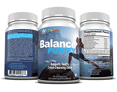 Colon Cleanse - Doctor Recommended Complete 15-Day Colon/Body Cleanse & Detox. Accelerate Healthy Weight Loss And Prime Your Body For Optimal Nutrient Absorption - Balance Purify Six+ Month Supply (Super Colon Blow compare prices)