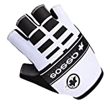 51mcoUVO01L. SL160  NEW! Cycling Half Finger Gloves/GYM Synthetic leather and Lycra M XL Reviews