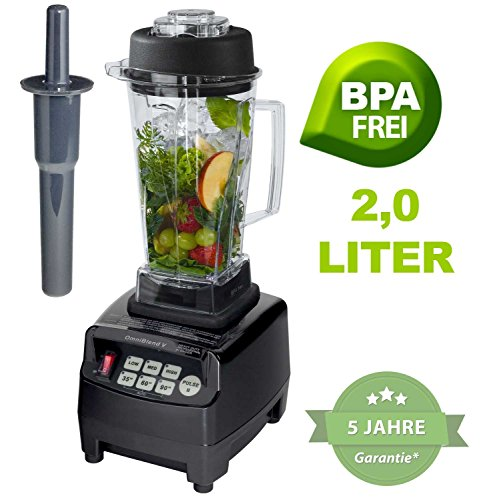 Profi-YaYago-Smoothie-Maker-Power-Mixer-Blender-Icecrusher-mit-Edelstahlmesser-bis-zu-38000-Umdrehungen-Minute-ideal-fr-Smoothies