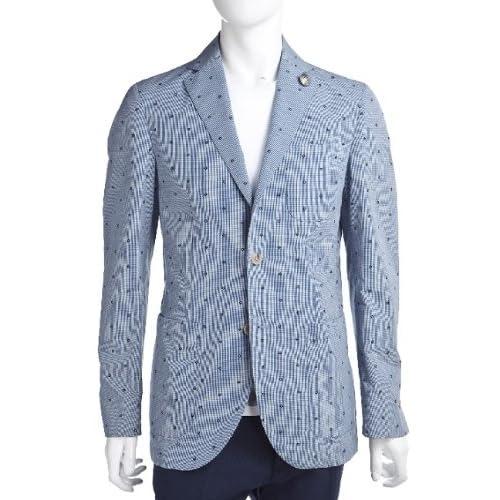 HYDROGEN メンズ ジャケット (140304)【50-ブルー×ホワイト】 並行輸入品