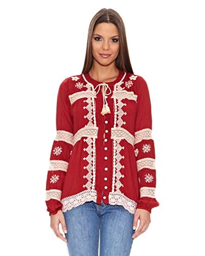 Tantra Blusa Dress Embroidery Blouse