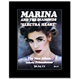 MARINA AND THE DIAMONDS - Electra Heart Matted Mini Poster - 28.5x21cm