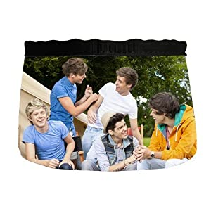 Custom One Direction Dog Cat Food Water Bowl PB-297 by WX Pet Bowls