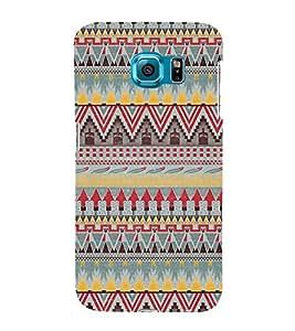 Arrow Pattern Design 3D Hard Polycarbonate Designer Back Case Cover for Samsung Galaxy S6 :: Samsung Galaxy S6 G920