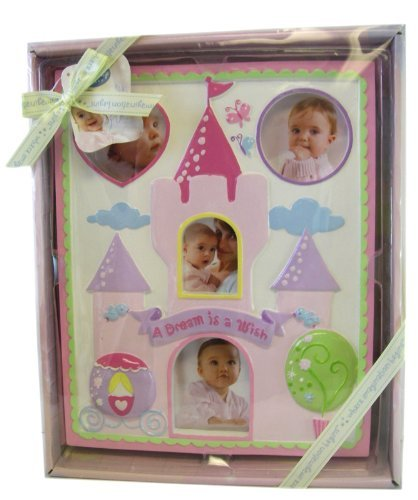 Disney Baby Girl Pink Milestone Picture Frame Shower Gift - 1