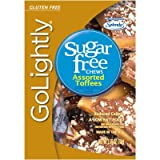 Go Lightly Sugar Free Toffees Assorted, 2.75 oz bag, Kosher