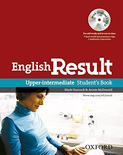 English Result Upper-Intermediate: Student's Book DVD Pack