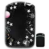 Stars And Moon For Amazon Kindle Fire & Kindle 3G Keyboard Soft Protection Neoprene Case Cover Sleeve Bag With Pocket which is Ideal for Headphones, Data Cable etc