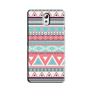 AZTEC PATTERN BACK COVER FOR LENOVO VIBE P1M