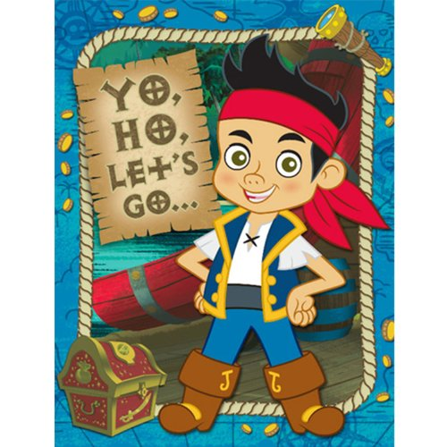 Purchase Jake and the Never Land Pirates Invitation