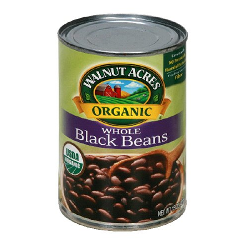 Walnut Acres Organic Beans, Black Beans , 15 Ounce Cans (Pack of 12)