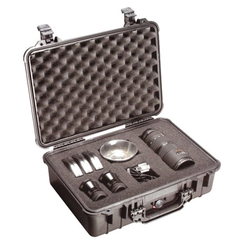 Peli 1500 Protector Case with Foam Black