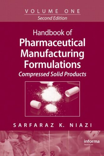 Handbook Of Pharmaceutical Manufacturing Formulations, Vol. 1: Compressed Solid Products front-599283