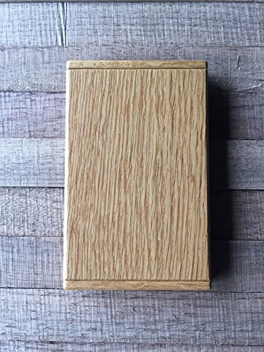 KNSK 木製カードケース オーク  made in Japan
