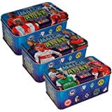 TOPPS Match Attax Collector Tins 2009/2010 3er Set