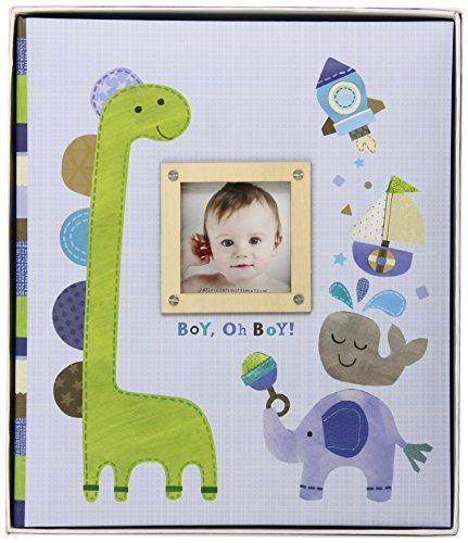C.R. Gibson Loose-Leaf Memory Book, Boy Oh Boy