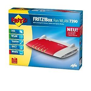AVM FRITZ!Box Fon WLAN 7390 WLAN-Router