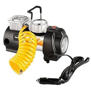 RAD Sportz 12 Volt Electric Co-Pilot Air Compressor with Gauge for Bike/Auto from RAD Sportz