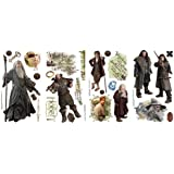 Roommates RMK2157SCS The Hobbit Peel  and  Stick Wall Decals