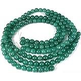 Green Aventurine Round Beads Gemstone 8mm 3 Strands