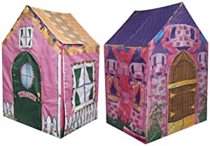 Kids Adventure 2 in 1 Castle/Cottage Playhouse