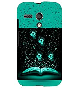 PRINTSWAG BOOK PATTERN Designer Back Cover Case for MOTOROLA MOTO G